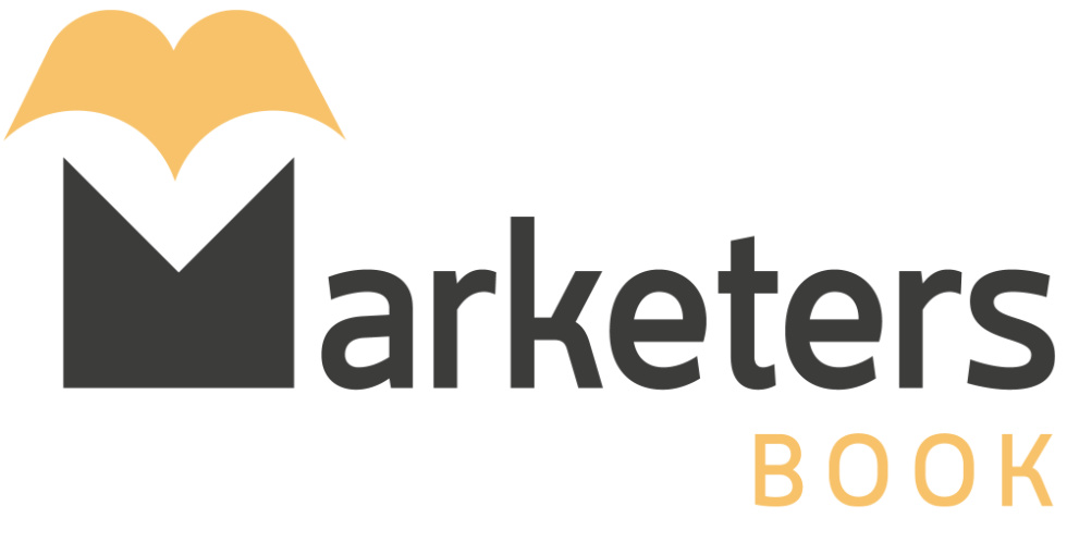 Marketers book logo